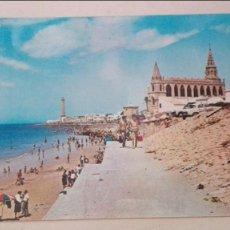 Postales: CHIPIONA PLAYA DEL SANATORIO. Lote 58424685