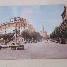 Postales: PUERTA DE JEREZ Y TORRE DEL ORO. Lote 58424700