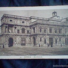 Postales: AYUNTAMIENTO SEVILLA ED ROISIN Nº 30 ESCRITA 1932 LEER ANIMADA . Lote 58432882