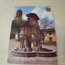 Postales: BAEZA FUENTE DE SNATA MARIA Y TORRE DE CATEDRAL. Lote 58446535