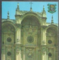 Postales: 198 - GRANADA - FACHADA PRINCIPAL DE LA CATEDRAL - POST. GRANADA -. Lote 58536487