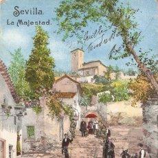 Postales: SEVILLA LA MAJESTAD PURGER & C0., CIRCULADA EN 1903. Lote 58653948