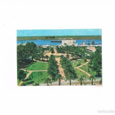 Postales: POSTAL ANTIGUA HUELVA SIN CIRCULAR MUELLE Y JARDINES. Lote 59157210