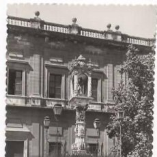 Postales: SEVILLA. RARA POSTAL MONUMENTO DE LA PLAZA DEL TRIUNFO. Lote 59603559