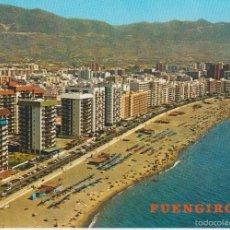 Postales: (1) FUENGIROLA. PLAYA Y PASEO MARITIMO. Lote 59650571