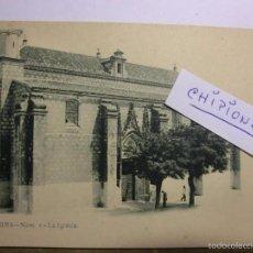Postales: CHIPIONA LA IGLESIA POSTAL DE J.LAURENT SIGLO XIX. Lote 59754832