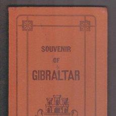 Postales: SOUVENIR OF GIBRALTAR.EDICIÓN:.V.B.CUMBO.10 POSTALES EN ACORDEÓN.. Lote 59892515