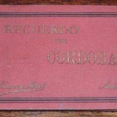 Postales: RECUERDO DE CORDOBA, ED. HAUSER Y MENET, CON 11 VISTAS, MIDE 12,5 X 9 CMS.. Lote 60024931