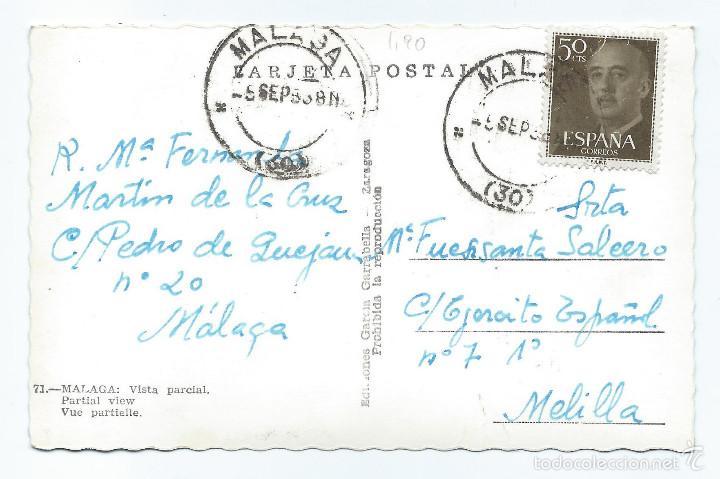 Postales: POSTAL. 71 - MÁLAGA. VISTA PARCIAL. GARCÍA GARRABELLA. - Foto 2 - 60389643