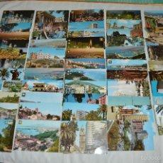 Postales: LOTE 50 TARJETAS POSTALES - CIRCULADAS - MÁLAGA Y PROVINCIA - MIRA LAS FOTOS. Lote 60774155