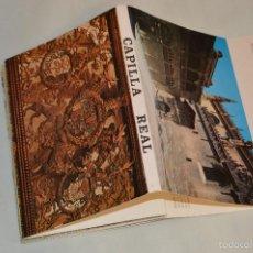 Postales: LIBRITO, 14 TARJETAS POSTALES - RECUERDO DE GRANADA - CAPILLA REAL - ANTIGUO. Lote 60795595