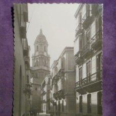Postales: POSTAL - ESPAÑA - MÁLAGA - 6 TORRE DE LA CATEDRAL - EDICIONES GARCIA GARRABELLA -. Lote 61293975