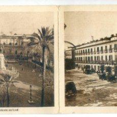 Postales: SEVILLA. HOTEL DE INGLATERRA. VISTA DOBLE, REVERSO SIN IMPRIMIR, PUBLICIDAD EN FRANCÉS. Lote 188663613