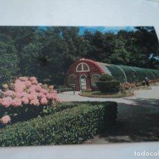 Postales: POSTAL ASTURIAS GIJÓN PAJARERA PARQUE ISABEL LA CATÓLICA. Lote 61618180