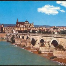 Postales: 778 - CORDOBA.- PUENTE ROMANO. AL FONDO VISTA PARCIAL. Lote 61678876