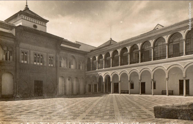 SEVILLA. REALES ALCAZARES. PATIO DE LA MONTERIA. NO ESCRITA (Postales - España - Andalucia Moderna (desde 1.940))