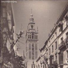 Postales: P- 6177. POSTAL DE SEVILLA, CALLE MATEOS GAGO Y LA GIRALDA. Nº 101 GARCIA GARRABELLA.. Lote 62053584
