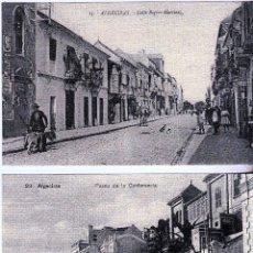 Postales: ALGECIRAS.LOTE 6 REPRODUCCIONES POSTALES ANTIGUAS. TETRAPODO 2004.(16-528). Lote 62246228