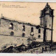 Postales: ALCALA LA REAL JAEN. LOPEZ FOT. Nº 9 EXTERIOR DE LA IGLESIA ABACIAL 1ª SIN CIRCULAR.. Lote 62328872