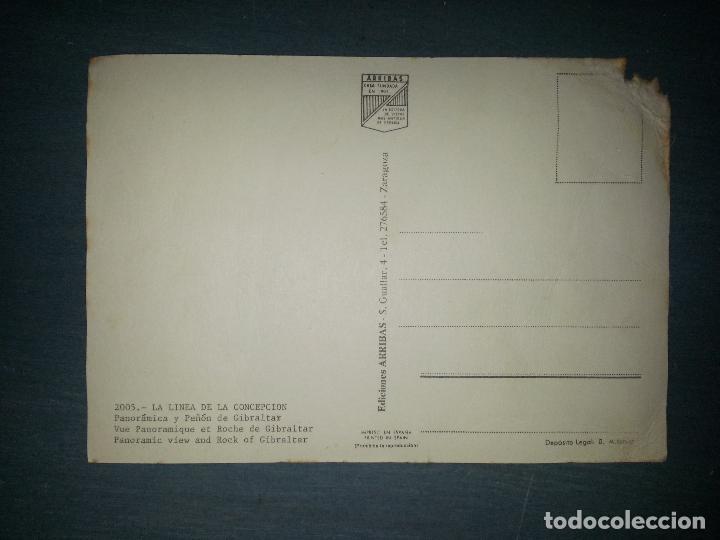 Postales: POSTAL PEÑON DE GIBRALTAR - CADIZ - LA LINEA - Foto 2 - 62382064