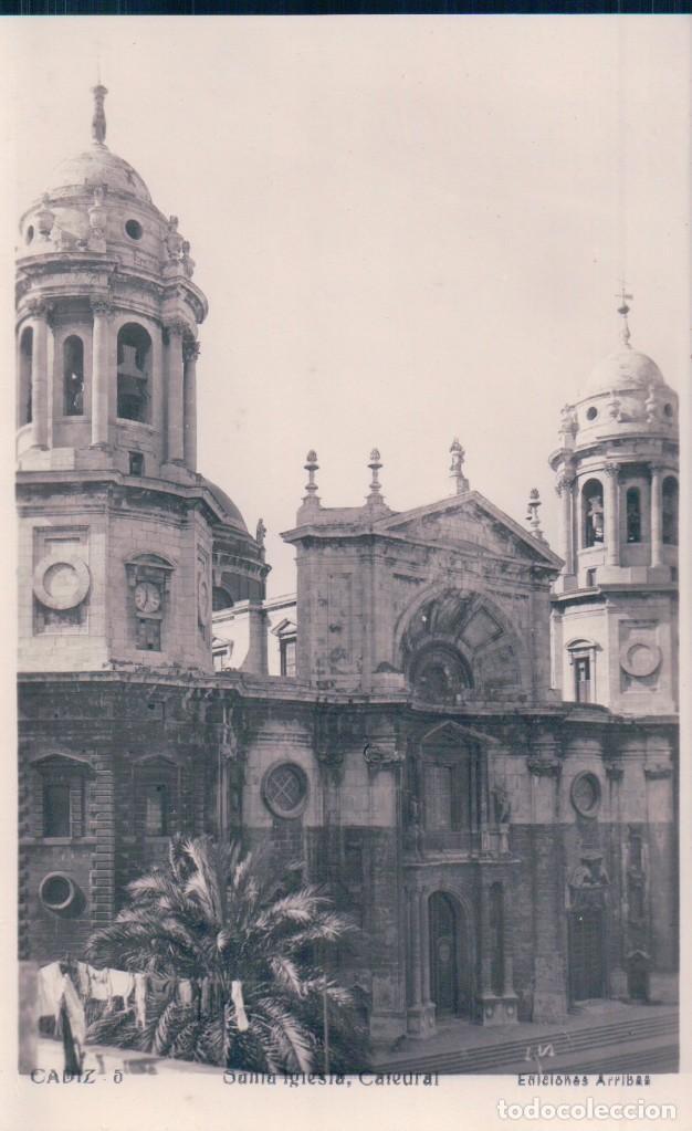 POSTAL CADIZ. SANTA IGLESIA, CATEDRAL. ARRIBAS 5 (Postales - España - Andalucía Antigua (hasta 1939))