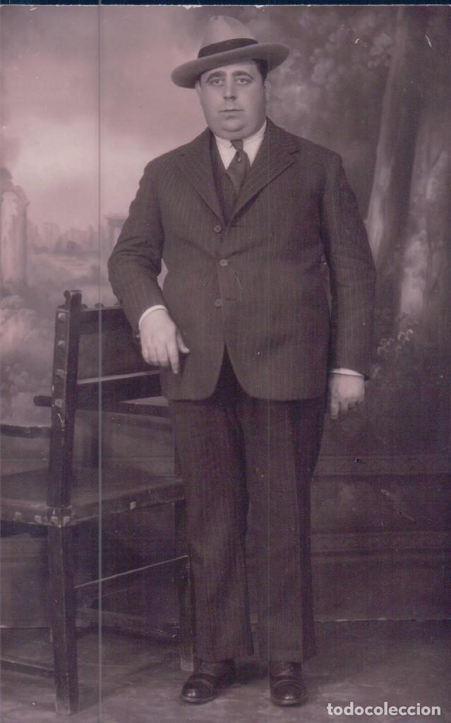 POSTAL DE D JOSE HIERRO BAEZ. COLECCIONISTA DE POSTALES DE LOS AÑOS 20-30 DE HUELVA. UNA EMINENCIA (Postales - España - Andalucía Antigua (hasta 1939))
