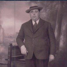 Postales: POSTAL DE D JOSE HIERRO BAEZ. COLECCIONISTA DE POSTALES DE LOS AÑOS 20-30 DE HUELVA. UNA EMINENCIA. Lote 64397339
