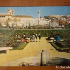 Postales: POSTAL FUENTE MONUMENTAL DEL TRIUNFO. (GRANADA) ESCRITA 1964.. Lote 64504411