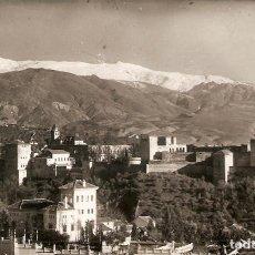 Postales: POSTAL GRANADA ALHAMBRA VISTA GENERAL EDICIONES HIJOS DE GALLEGOS FOTOGRAFIA FOTO SPAIN PHOTO. Lote 64667939