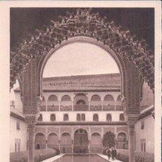 Postales: GRANADA. ALHAMBRA. PATIO DE LA ALBERCA. L. ROISIN, FOT. Nº 103. Lote 64716867