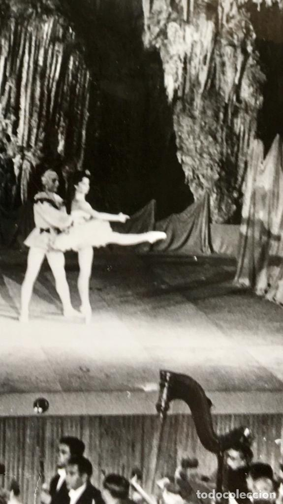 BAILARINA MALAGA CUEVA DE NERJA BALLET LE TOUR DE PARIS AÑOS 50 60 (Postales - España - Andalucia Moderna (desde 1.940))