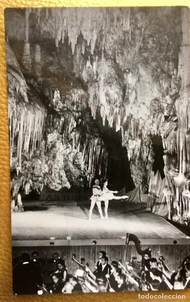Postales: Bailarina Malaga cueva de Nerja ballet le tour de Paris años 50 60 - Foto 3 - 64876279