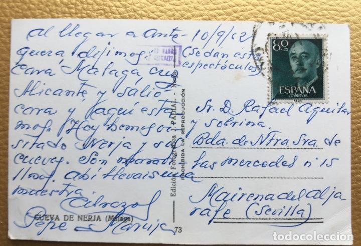 Postales: Bailarina Malaga cueva de Nerja ballet le tour de Paris años 50 60 - Foto 4 - 64876279