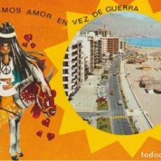 Postales: (70) FUENGIROLA. PLAYA Y PASEO MARITIMO. Lote 66030538