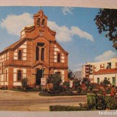 Postales: POSTAL DE TORRE DEL MAR (MÁLAGA). IGLESIA PARROQUIAL. SIN CIRCULAR. AÑOS 60 O 70.. Lote 206833923