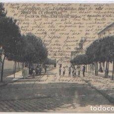 Postales: POSTAL JEREZ DE LA FRONTERA CALLE DE CANALEJAS ANTES ANCHA ED. CASA SALIDO 1916 ANIMADA. Lote 67744633