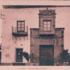 Postales: POSTAL CÓRDOBA- PALACIO DEL MARQUÉS DE FUENSANTA. L.ROISIN. Lote 67931789