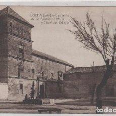 Postales: UBEDA CONVENTO DE LAS SIERVAS DE MARIA Y CÁRCEL DEL OBISPO EDICIÓN MODERNA DE LA IMPRENTA DE LA LOMA. Lote 68038881