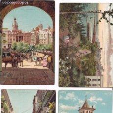 Postales: P- 6287. LOTE DE 5 POSTALES DE CADIZ. EDIT. PETTRACHI & NOTERMAN, ITALIA.. Lote 68242237