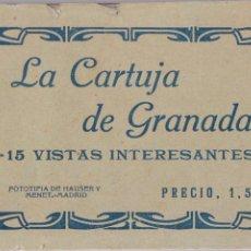 Postales: P- 6303. BLOC POSTALES LA CARTUJA DE GRANADA. HAUSER Y MENET, MADRID.. Lote 68451129