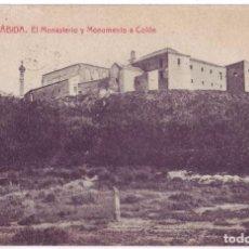 Postkarten - La Rábida (Huelva): El Monasterio y Monumento a Colón. Rogelio Buendía / Thomas. Circulada (Años 20) - 68574465
