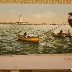 Postales: POSTAL MALAGA. DETALLE DEL PUERTO. PURGER & CO. COL. PAPELERIA CATALANA 42. Lote 68601307