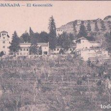 Postales: POSTAL DE GRANADA: EL GENERALIFE (ANDRES FABERT NUM.50). Lote 68851401