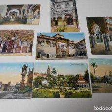 Postales: SEVILLA. LOTE DE 8 TARJETAS POSTALES DE PRINCIPIOS DEL SIGLO XX.. Lote 68932993