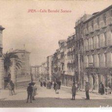 Postales: POSTAL DE JAEN - CALLE BERNABÉ SORIANO .. Lote 70107901