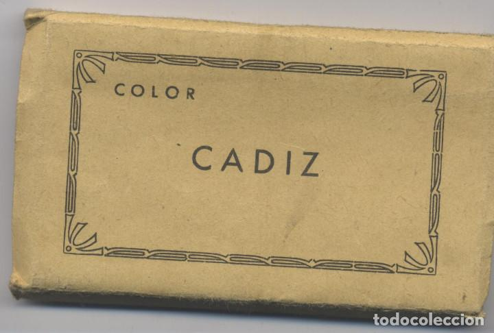 LIBRO DE 16 POSTALES-COLOR DE CADIZ-L.ROISIN-FOTO (Postales - España - Andalucia Moderna (desde 1.940))