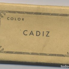 Postales: LIBRO DE 16 POSTALES-COLOR DE CADIZ-L.ROISIN-FOTO. Lote 70116989