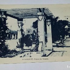 Postales: ANTIGUA POSTAL. PASEO DE TETUAN AYAMONTE HUELVA. Lote 70212021