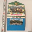 Postales: ACORDEÓN DE POSTALES. GRANADA ALHAMBRA 14 POSTALES - AÑOS 70. Lote 70291433