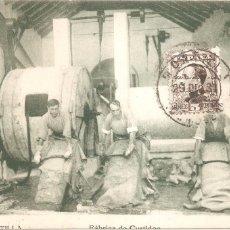 Postales: MONTILLA CÓRDOBA FÁBRICA DE CURTIDOS 1931. Lote 70513117